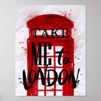 Poster Portez-moi à Londres