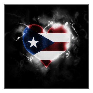 Poster Porto Rico puissant