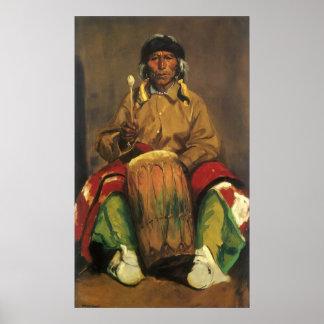 Poster Portrait de Dieguito Roybal par Robert Henri