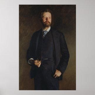 Poster Portrait de Henry Cabot Lodge par JS Sargent
