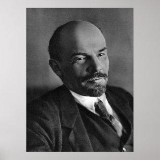 Poster Portrait de photo de Lénine