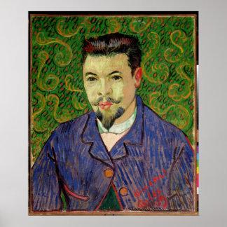 Poster Portrait de Vincent van Gogh | de Dr. Felix Rey,