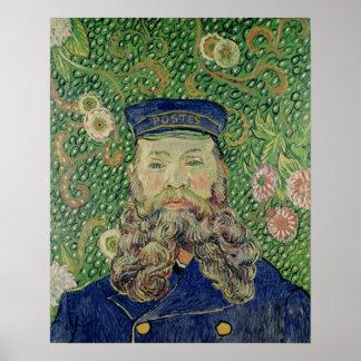 Poster Portrait de Vincent van Gogh | du facteur