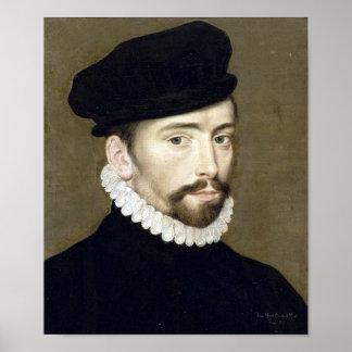 Poster Portrait Villeroy renaissance