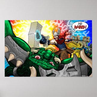 Poster Pour Asgard ! - Affiche