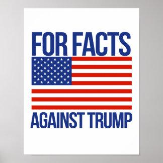 Poster Pour des faits contre l'atout - - la Pro-Science -