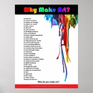 Poster Pourquoi faites l'art ?