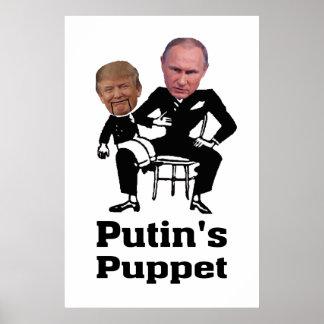 Poster Poutine et marionnette