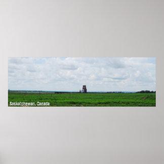 Poster Prairies panoramiques