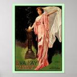Poster Prêtresse de ~The féerique d'Eva haute de mysticis