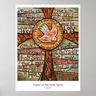 Poster Prière à l'affiche de salle de classe de