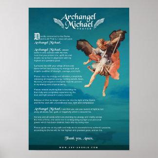 Poster Prière d'Arkhangel Michael