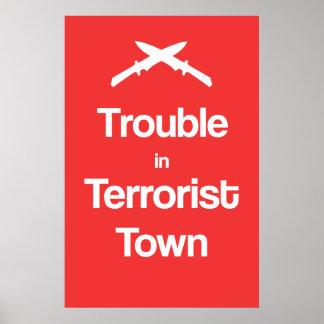 Poster Problème en affiche de Garry'smod de ville de