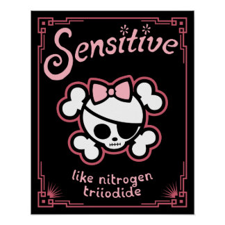 Poster Psychopathe sensible