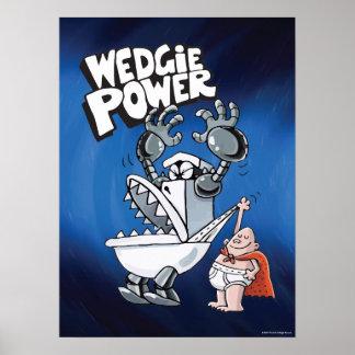 Poster Puissance de capitaine Underpants | Wedgie