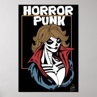 Poster Punk d'horreur