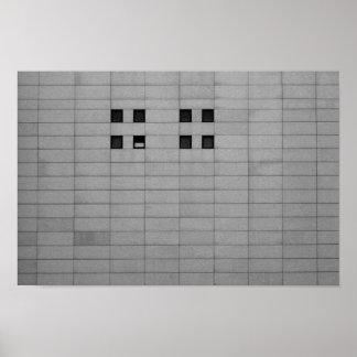 Poster Quatre fenêtres