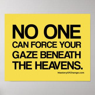 Poster Regardez fixement aux cieux