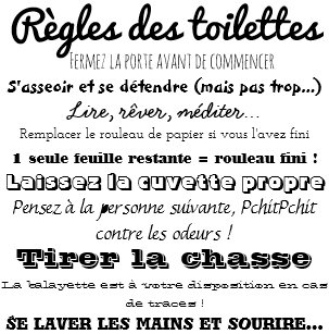 Posters Affiches Toilettes Zazzlefr