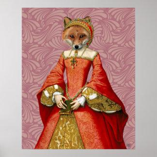 Poster Reine de Fox