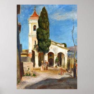 Poster Renoir - chapelle de notre Madame de la protection