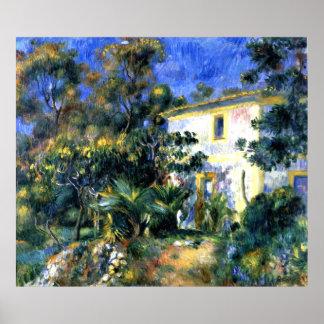 Poster Renoir - paysage algérien