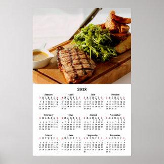 Poster Repas gastronomique de fantaisie dinant fin de