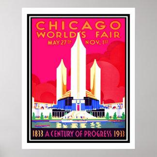 Poster Reproduction de cru d'Exposition universelle de