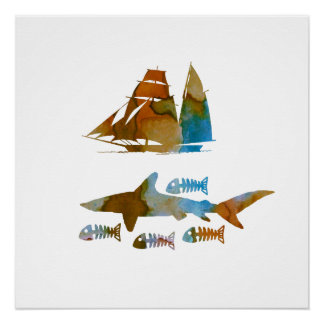 Poster Requin