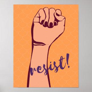 Poster Résistez ! affiche
