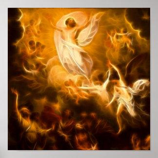 Poster Résurrection de Jésus