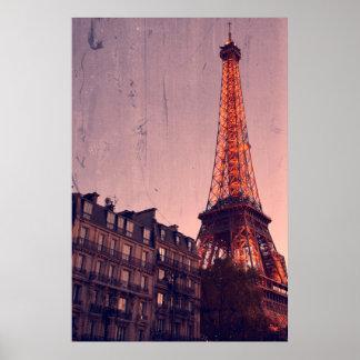 Poster Rétro Paris - toujours une bonne idée - affiche
