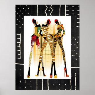 Poster Roche noire de filles !
