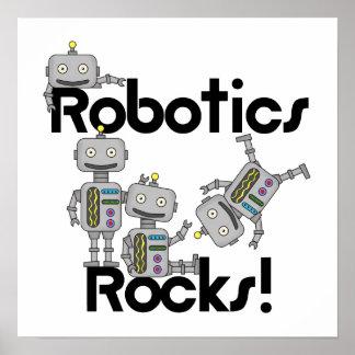 Poster Roches de robotique