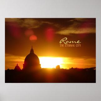 Poster Rome, la ville éternelle
