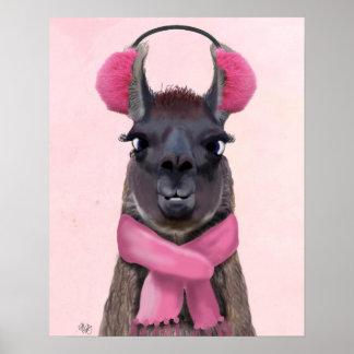 Poster Rose frais de lama