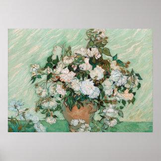 Poster Roses de Vincent van Gogh |, 1890