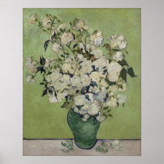 Poster Roses GalleryHD floral vintage de Vincent van Gogh