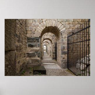 Poster Ruines de Grec de Pergamon