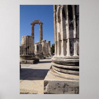 Poster Ruines de temple du grec ancien