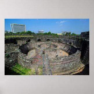 Poster Ruines de tour de guet de Luçon