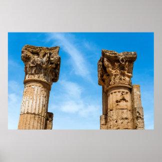 Poster Ruines romaines de ville