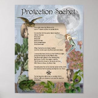 POSTER SACHET DE PROTECTION