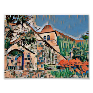 Poster Saint-Vincent favela