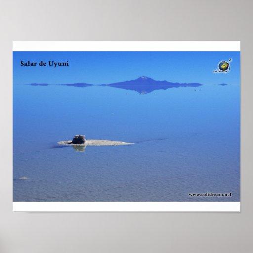 Poster Salar de Uyuni
