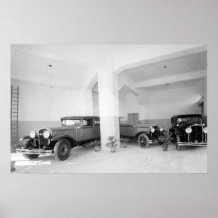 Poster Salle d'exposition de Buick à Jérusalem : 1920