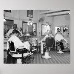 Poster Salon de coiffure de capitol, 1938 photos vintages