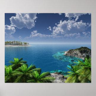 Poster Salutations des îles