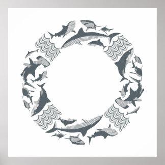 Poster Sauvez le sauveteur de requins