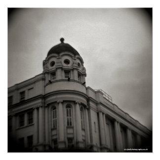 Poster Scala, les Rois Cross, Londres. Appareil-photo de